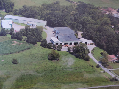 Aerial photo of JMH Trailers