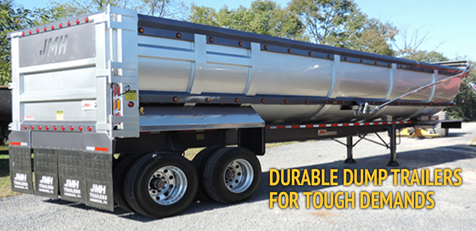 Durable Dump Trailers for Tough Demands