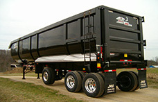 Steel and Aluminum Dump Trailers