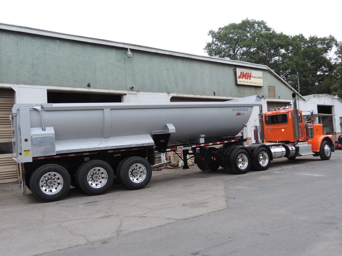 Steel And Aluminum Dump Trailers on framed dump trailers